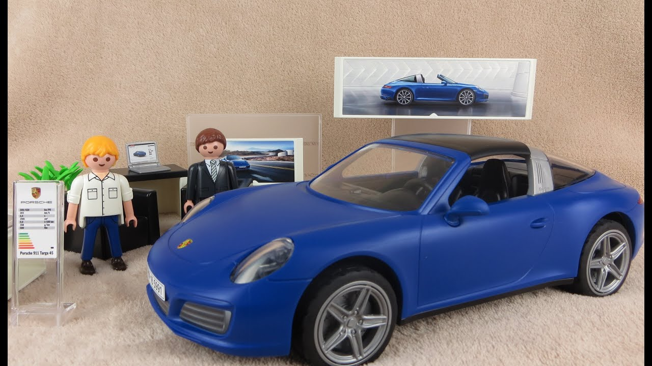 playmobil deutsch porsche 911 targa 4s 5991 blau ausgepackt angespielt youtube. Black Bedroom Furniture Sets. Home Design Ideas