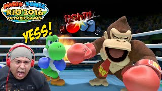 FIGHT OF THE F#%KING CENTURY!! [YOSHI VS. DONKEY!] [MARIO & SONIC 2016 RIO OLYMPICS!]