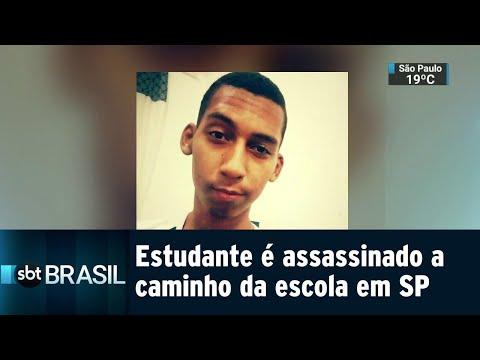 Estudante é assassinado a caminho da escola em Embu das Artes, em SP | SBT Brasil (29/08/18)
