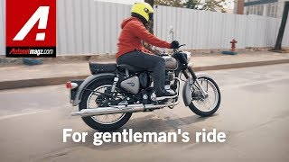 Royal Enfield Classic 350 Review & Test Ride by AutonetMagz