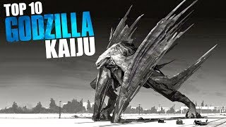 TOP 10 Most Powerful GODZILLA Kaiju