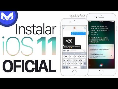 INSTALAR iOS 11 OFICIAL Y FACIL #iOS11