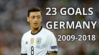 Download Video Mesut Ozil All 23 Goals For Germany | 2009-2018 | Goodbye Legend MP3 3GP MP4