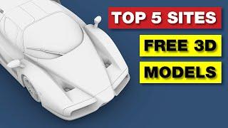 TOP 5 Websites | FREE 3D Models screenshot 4