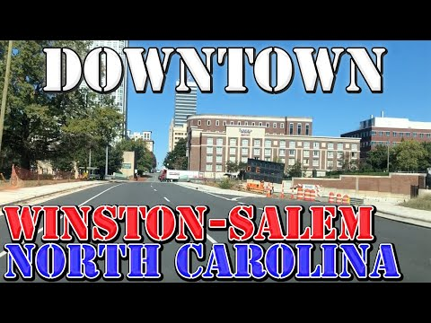 Winston-Salem - North Carolina - Downtown Drive