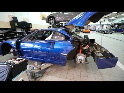 That Time Of Year Again: Ferrari F40 BLU Service