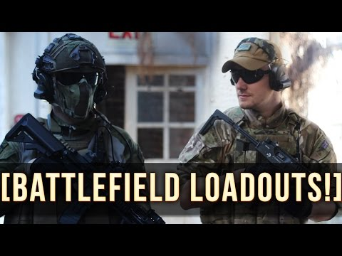 BATTLEFIELD AIRSOFT LOADOUTS!