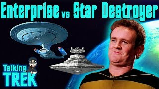 THE ENTERPRISE vs. STAR DESTROYER | TALKING TREK