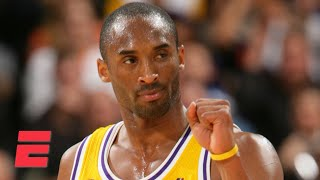 NBA legends admire Kobe Bryant's greatness