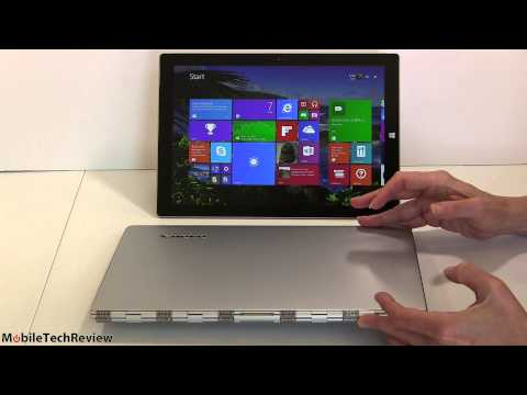 Lenovo Yoga 3 Pro Vs. Microsoft Surface Pro 3 Comparison Smackdown