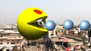Pac-Man In Real Life 02