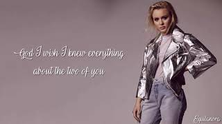 Zara Larsson - She's Not Me (Pt 1 & 2) (Lyrics)