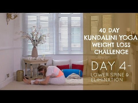 Day 4: Lower Spine & Elimination - The 40 Day Kundalini Yoga Weight Loss Challenge w/ Mariya