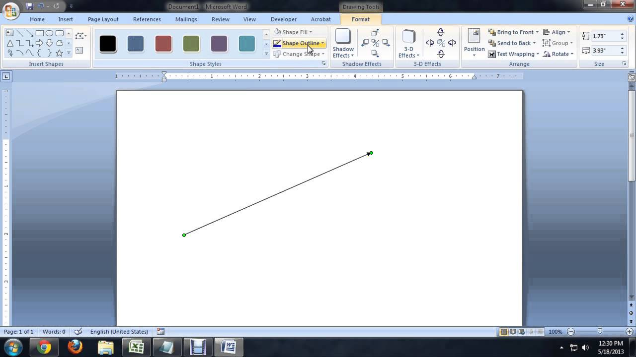 Drawing Lines In Microsoft Word : How to make a dashed line in microsoft word tech niche