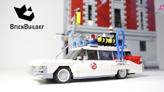 Lego 75827 Firehouse Headquarters and 21108 Ecto-1 Together!