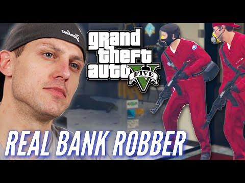 Ex-Bank Robber Attempts A Heist In Grand Theft Auto V • Pro Play