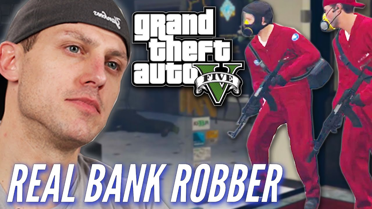 Ex-Bank Robber Attempts A Heist In Grand Theft Auto V • Professionals Play