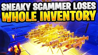 SNEAKY Scammer Obtient Scammed For Whole Inventory! À Fortnite Save The World