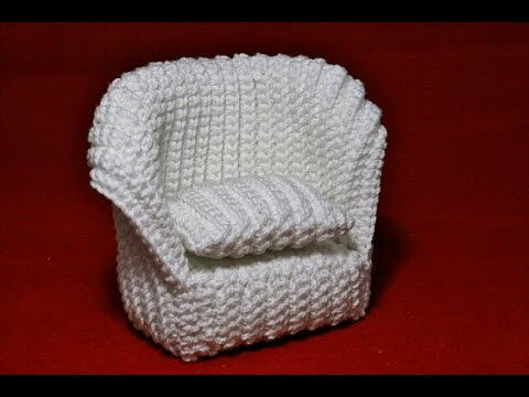 Crochet Pattern Chair For Dollhouse Youtube