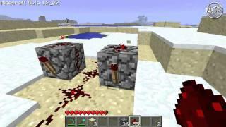Repeat youtube video Minecraft - Redstone tutorial - Rapid fire dispenser