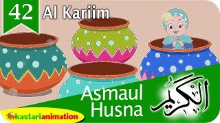 Asmaul Husna 42 Al Kariim bersama Diva | Kastari Animation Official