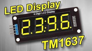 lED дисплей TM1637 и Ардуино