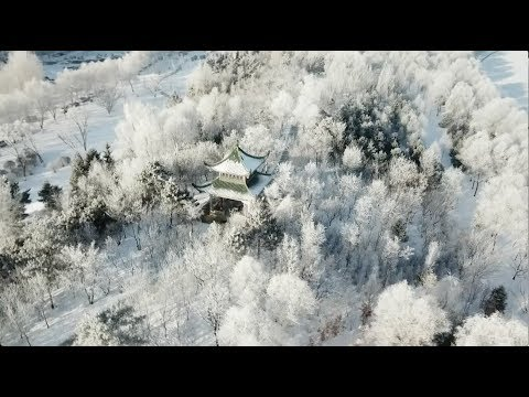 Rime Creates Stunning Scenery in Northeast China