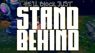 Repeat youtube video Instalok - Stand Behind [BRAUM Song] (Imagine Dragons - Demons PARODY)
