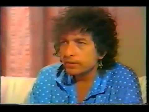 Bob Dylan TV news interview from the 1980s   YouTube