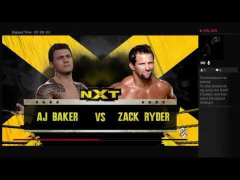 #3 The battle of AJ Baker & Kevin Owens...Part1