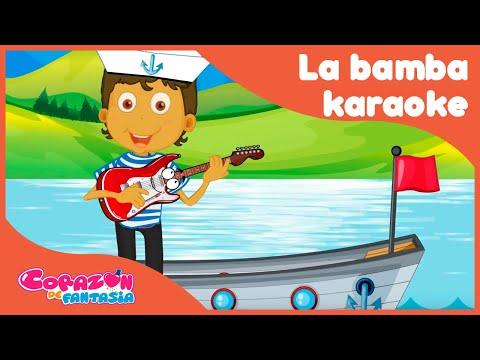 La Bamba, a cantar y Bailar en Karaoke-canciones infantiles