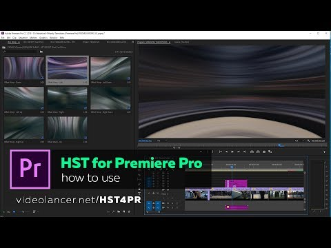 Handy Seamless Transitions for Premiere Pro V2 - How To Use