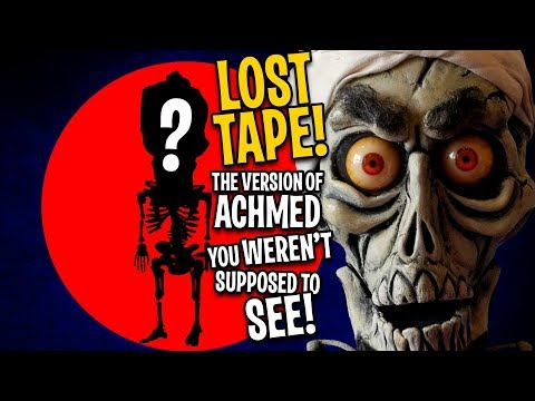 LOST TAPE! The Achmed you WEREN'T supposed to see!  JEFF DUNHAM