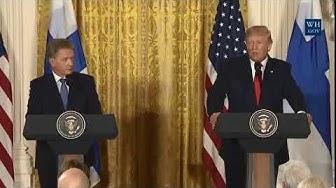 Donald Trump & Sauli Niinistö sekä Paasikiven ja Kekkosen-linja