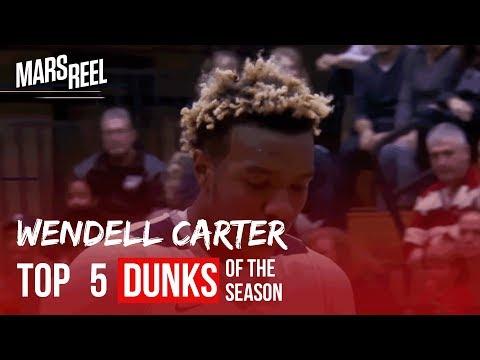 Duke Bound Wendell Carter Jr. TAKES OFF | Top 5 Dunks of Season!