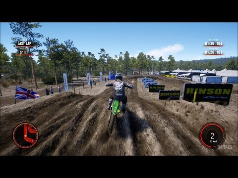 MXGP 2019 - The Official Motocross Videogame Gameplay (PC HD) [1080p60FPS]