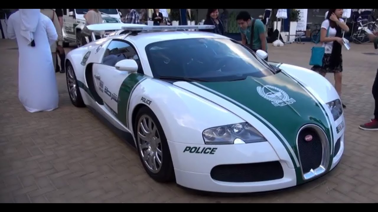 bugatti veyron police car in dubai youtube. Black Bedroom Furniture Sets. Home Design Ideas