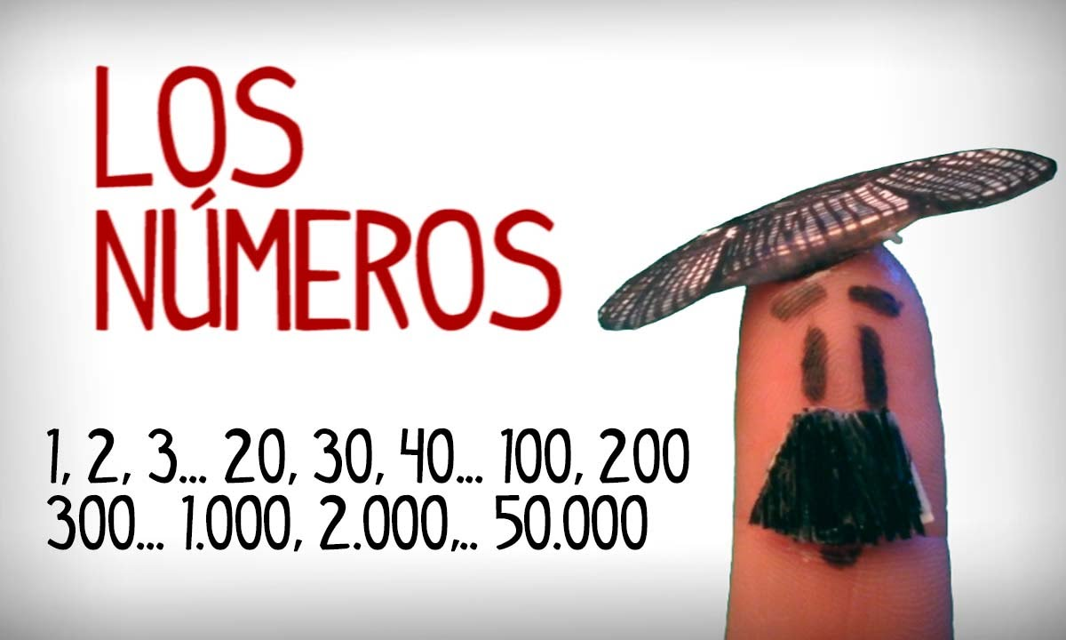apprenez les nombres en espagnol 1 50000 youtube. Black Bedroom Furniture Sets. Home Design Ideas
