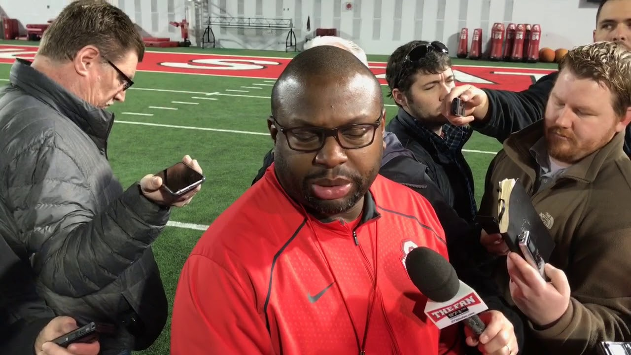 ohio-state-running-backs-coach-tony-alford-updates-spring-practice