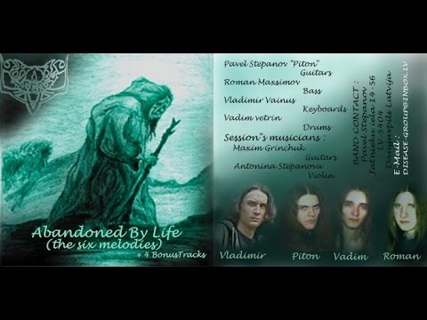 Disease - The History (Latvian Symphonic Metal Band) 1996-2009 Part 1