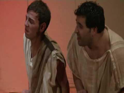 L'ODISSEA - parodia in musica - Ulisse (Federico Perrotta) e i compagni sull'isola dei ciclopi
