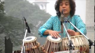 Roopak Taal Zakirji Live at Taj