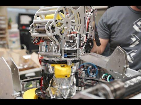 First Worlds Houston 2017: Team 971 - Robot