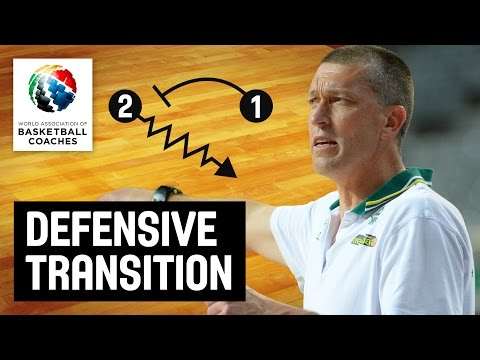 Defensive Transition - Andrej Lemanis - Basketball Fundamentals