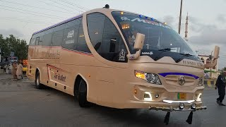 Al Mustafa Air Bullet Bus Reviwe Departures Karachi  Quetta Daily Service Islamabad Lahore Peshawar.