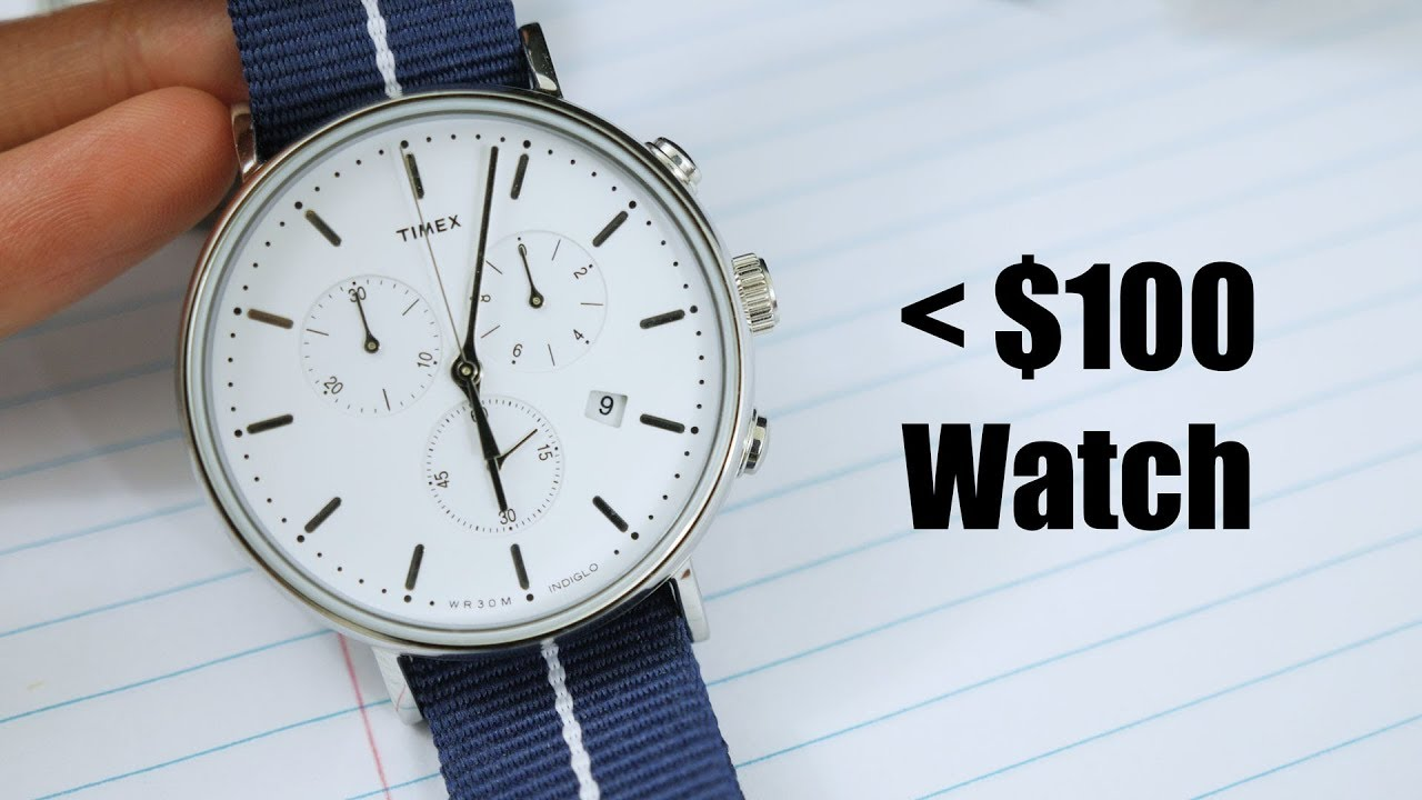 The best watch under 100 timex fairfield youtube for Watches under 100