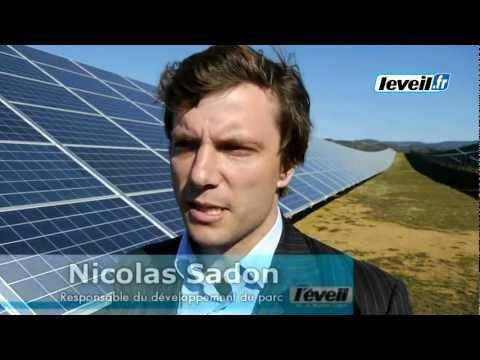 Le plus grand parc solaire de Haute-Loire