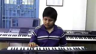 ilayaraja, eduta neeve abhinandana telugu song on keyboard by maneesh