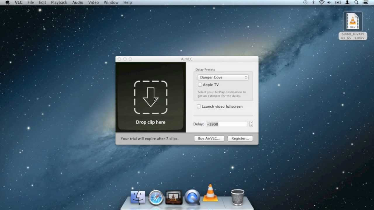 AirVLC - AirPlay launcher for VLC
