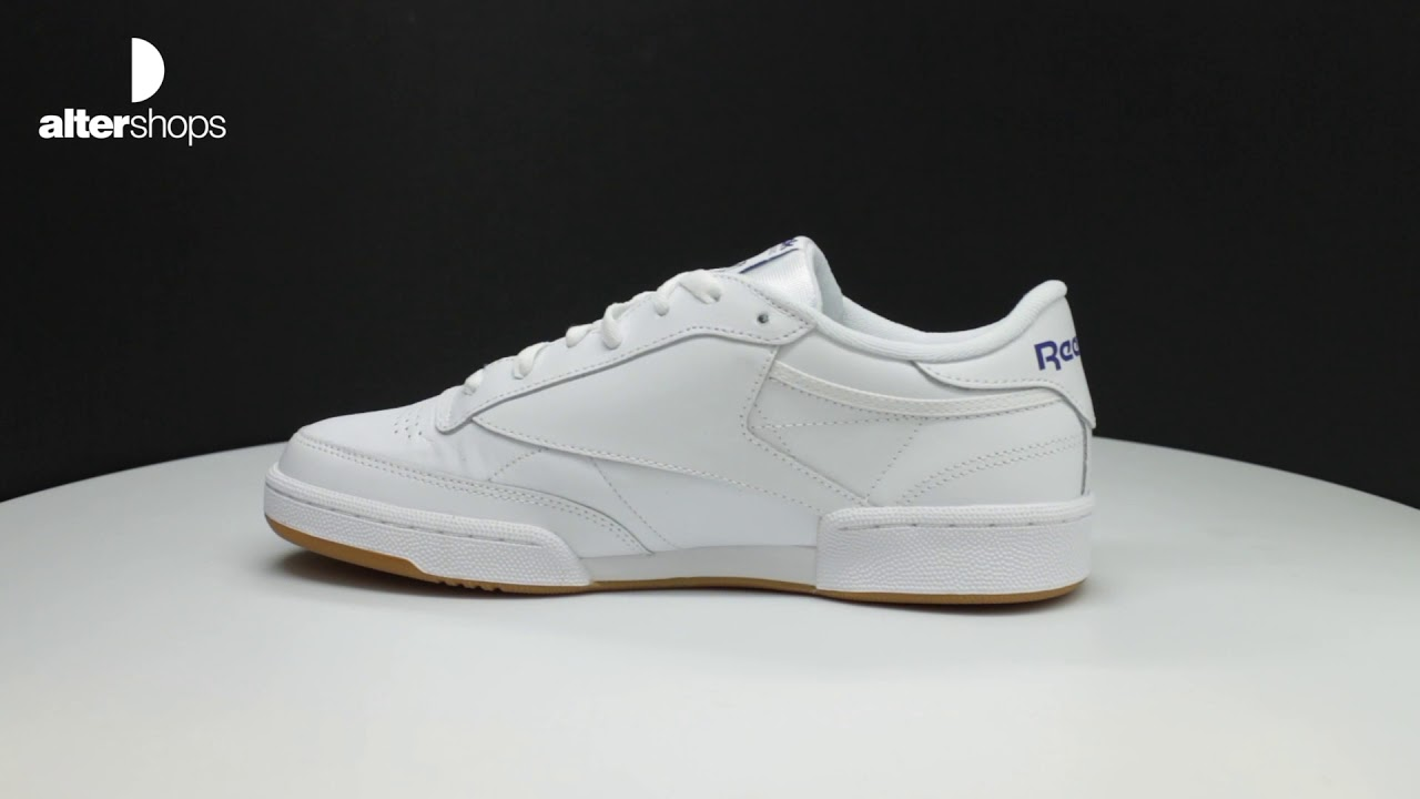 1aeef163d19 Reebok Classic Club C 85 AR0459 FW19 - YouTube